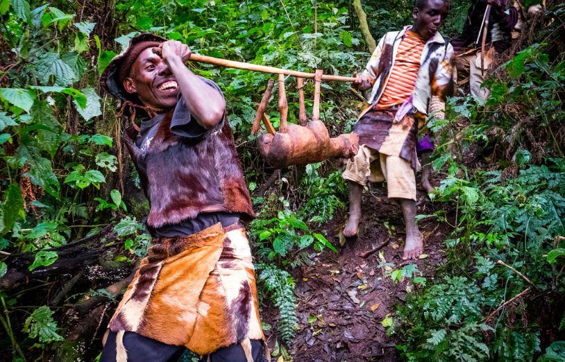 Batwa Community Trail in Mgahinga