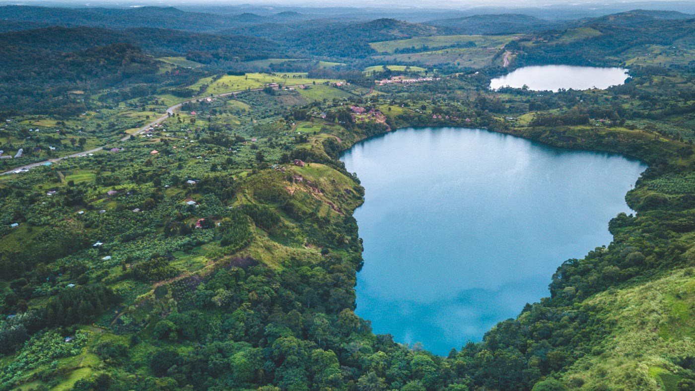 Crater Lakes in Kibale National Park