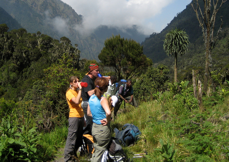 Rwenzori Hikers