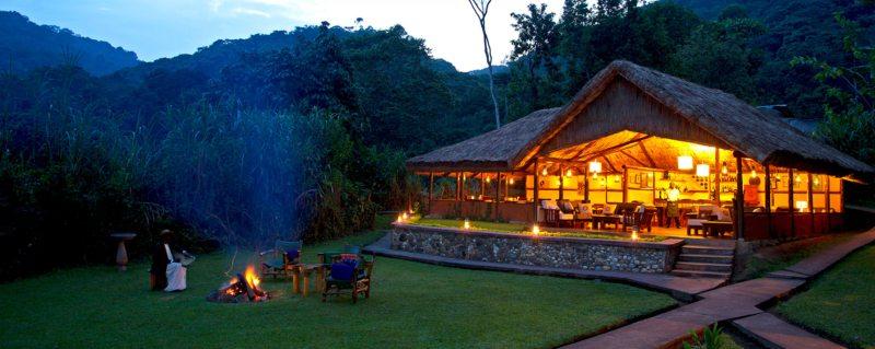 Where should I stay for gorilla trekking in Uganda?
